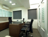 Office interior Manager Room